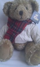 Adorable Big Harrods Christmas Edition 2002 Collectable Teddy Bear + Tag